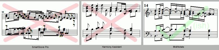 convert pdf to music notation