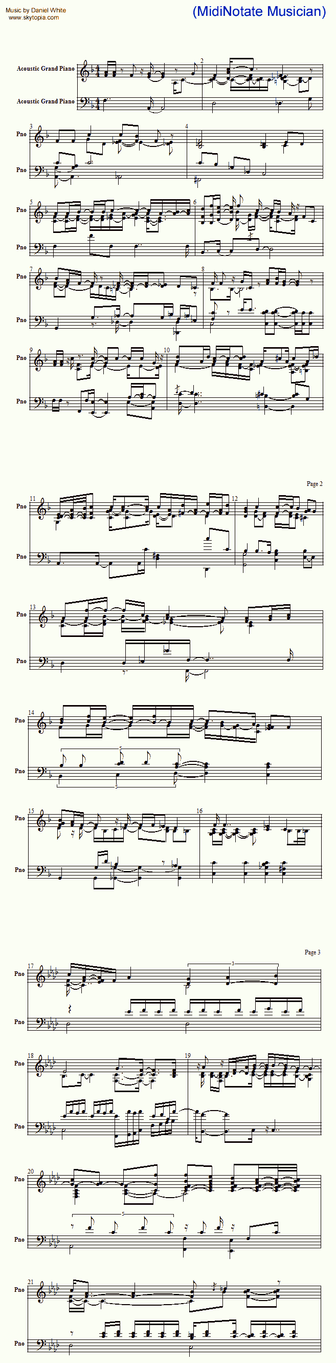 Convert Midi To Sheet Music The Best Notation Converter Software