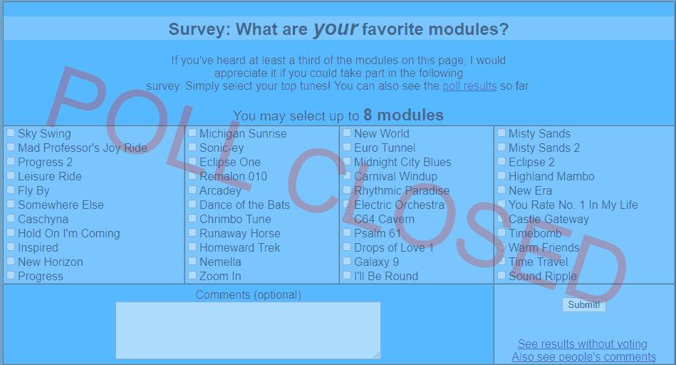 Skytopia : Music modules by Soundburst (Amiga/PC MOD format)